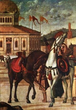Vittore Carpaccio - The Triumph of St George [detail: 1]
