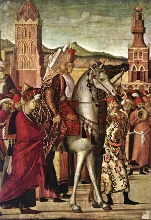 Vittore Carpaccio - The Triumph of St George [detail: 2]