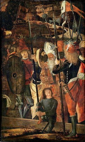 Vittore Carpaccio - Group of Orientals, Jews and Soldiers, 1493-95