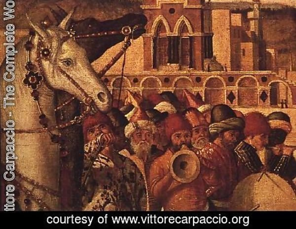 Vittore Carpaccio - Triumph of St.George, 1501-07 (detail)