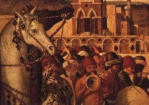 Triumph of St.George, 1501-07 (detail)