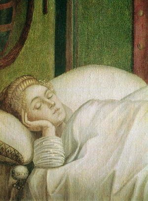 Vittore Carpaccio - Dream of St. Ursula, 1495