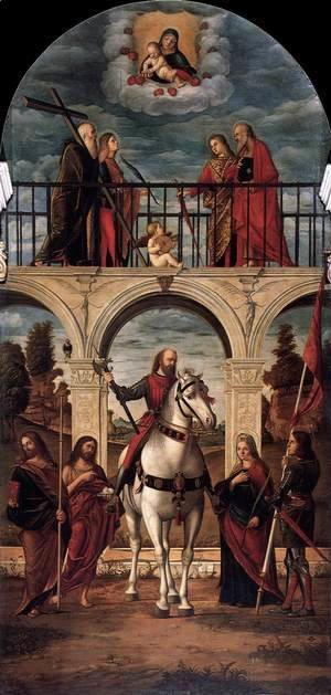Vittore Carpaccio - Glory of St Vitalis