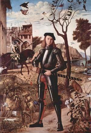 Vittore Carpaccio - Portrait of a Knight