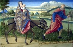 Vittore Carpaccio - The Flight into Egypt