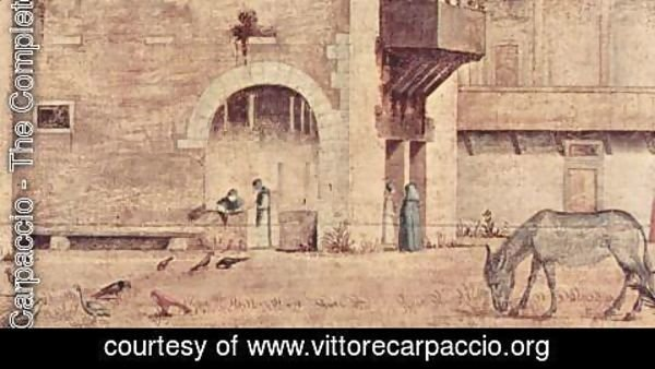 Vittore Carpaccio - Funeral of St Jerome, detail 2