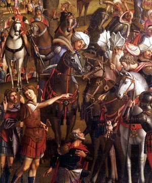 Vittore Carpaccio - The Ten Thousand Martyrs on the Mount Ararat (detail)