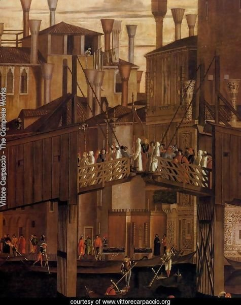 The Healing of the Madman (detail)