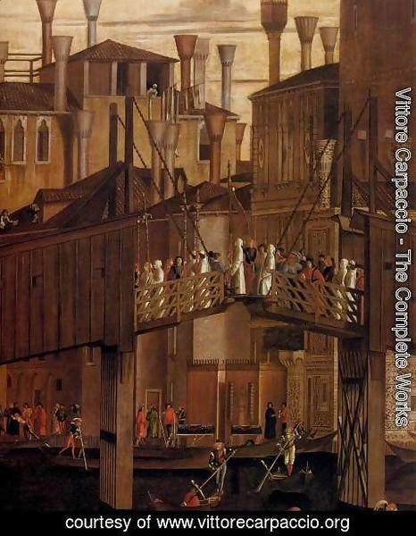 Vittore Carpaccio - The Healing of the Madman (detail)