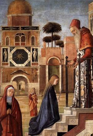The Presentation of the Virgin (detail)
