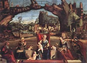 Vittore Carpaccio - Holy Conversation 2