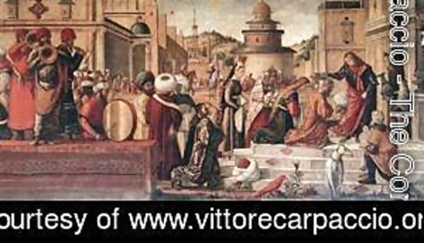 Vittore Carpaccio - The Baptism of the Selenites