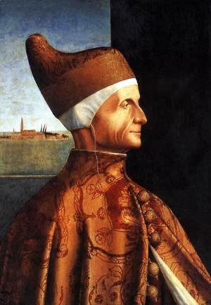 Vittore Carpaccio - Portrait of the Doge Leonardo Loredan