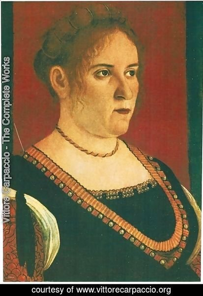 Vittore Carpaccio - Portrait of a lady