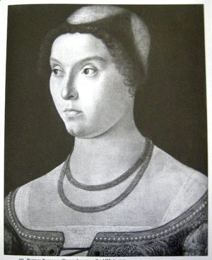 Vittore Carpaccio - Portrait of a lady 2