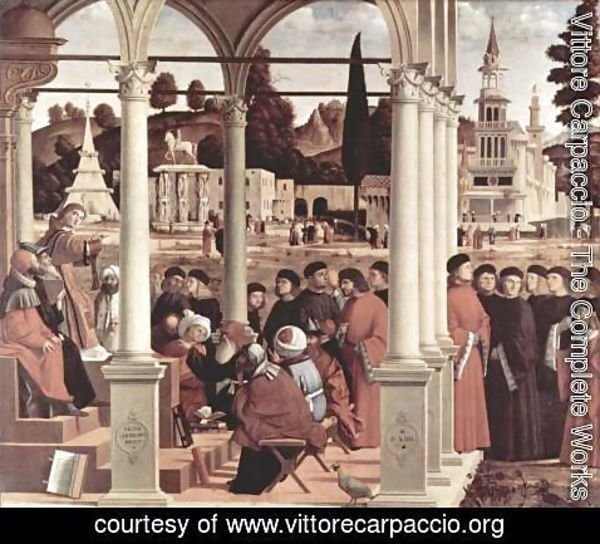 Vittore Carpaccio - Disputation of St Stephen 1514
