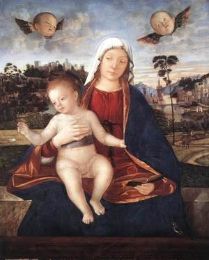Vittore Carpaccio - Madonna and Blessing Child 1505-10