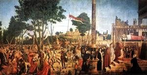 Vittore Carpaccio - Martyrdom of the Pilgrims and the Funeral of St Ursula 1493