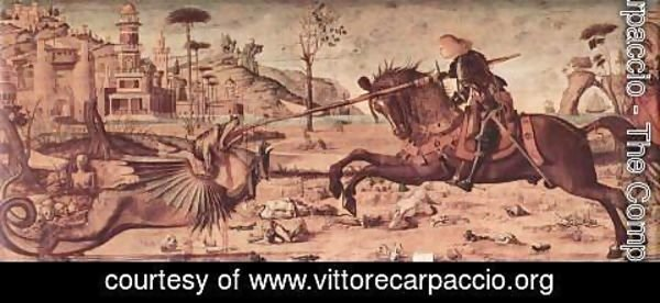 Vittore Carpaccio - St George and the Dragon 1502