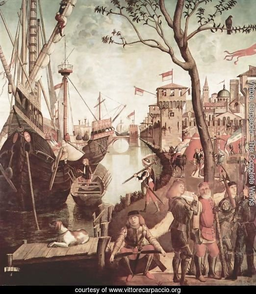 The Arrival of the Pilgrims in Cologne 1490