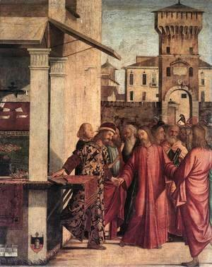 Vittore Carpaccio - The Calling of Matthew 1502