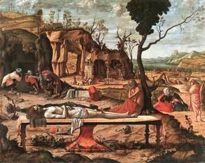 Vittore Carpaccio - The Dead Christ c. 1520