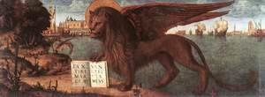 Vittore Carpaccio - The Lion of St Mark 1516