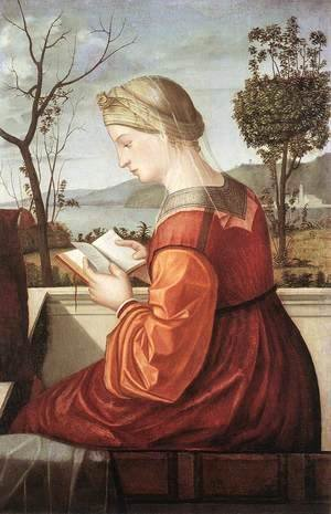 Vittore Carpaccio - The Virgin Reading 1505-10
