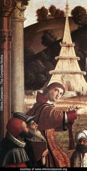 Disputation of St Stephen (detail) 1514