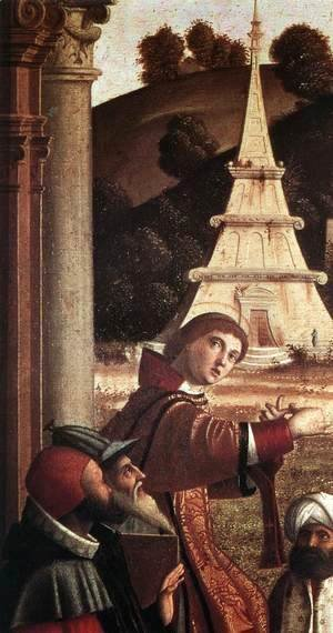 Vittore Carpaccio - Disputation of St Stephen (detail) 1514