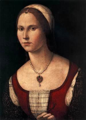 Vittore Carpaccio - Portrait of a Young Woman