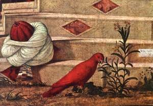 Vittore Carpaccio - The Baptism of the Selenites (detail 2) 1507