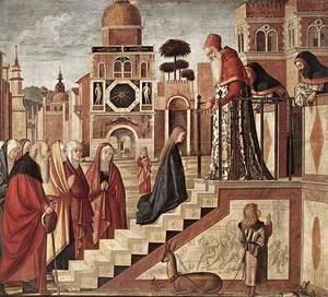 Vittore Carpaccio - The Presentation of the Virgin 1504-08